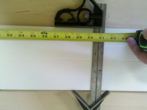 Fish measuring board 4