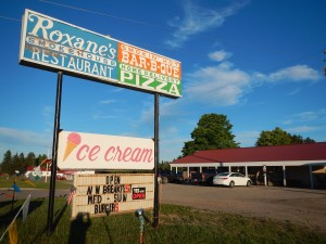Roxane's Smokehouse Restaurant in Strongs Corner, Michigan makes the best strawberry shortcake with a homemade sweet biscuit.
